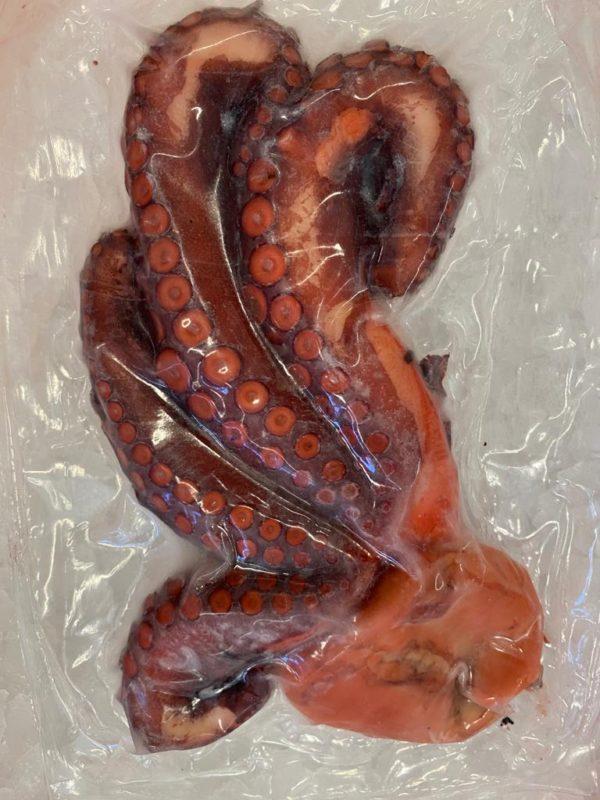 keedetud, kaheksajalg, külmutatud